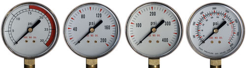 "Coplay Norstar PG204000BP 2"" - 4,000psi Pressure Gauge -"