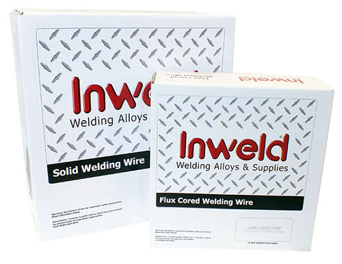Inweld 3370S6035CF ER 70S-6 0.035 x 33 lb Spool CF AWS A5.18 70S6 - Layer Wound Bare - NON-Copper Coated